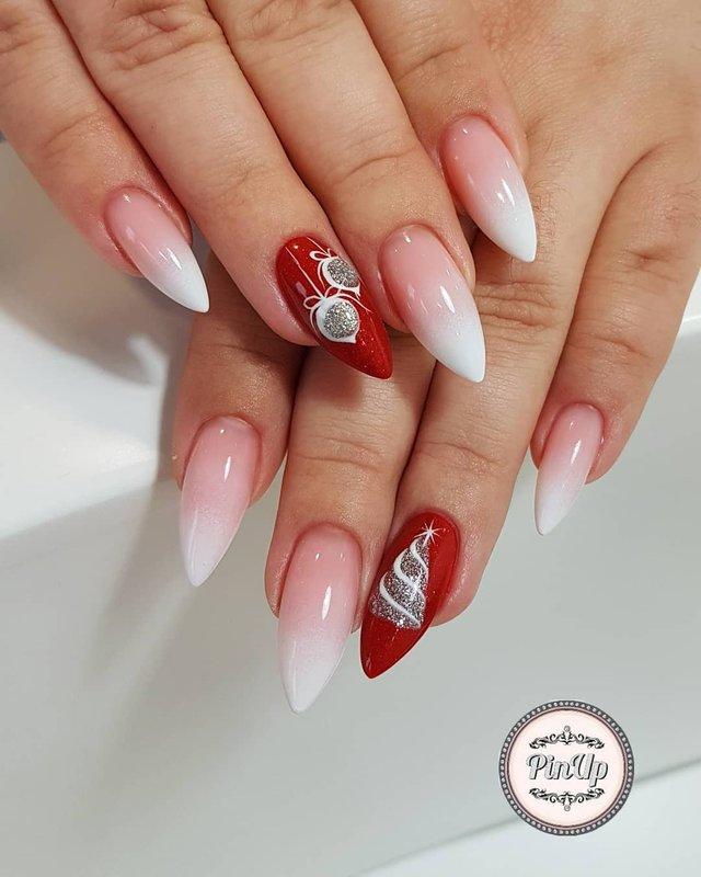 Новорічний манікюр 2020: готові варіанти нігтів на Новий рік у фото - фото 372802