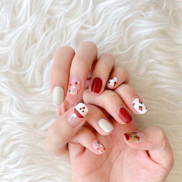 Новорічний манікюр 2020: готові варіанти нігтів на Новий рік у фото - фото 372811