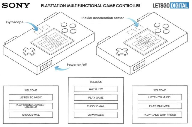 Sony запатентувала портативну консоль для відеоігор - фото 372931