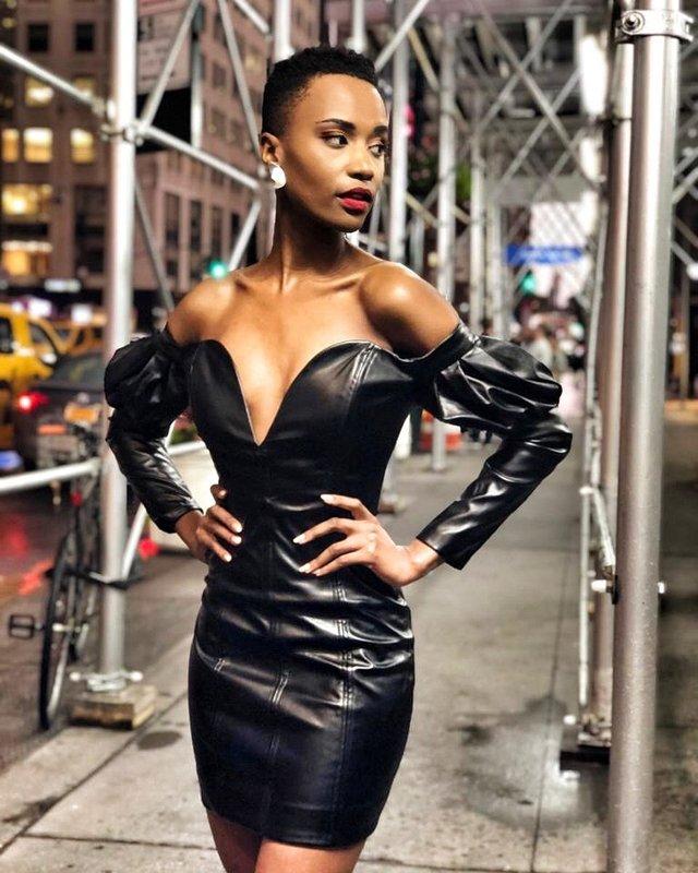 Зозібіні Тунзі – Міс Всесвіт 2019: добірка гарячих фото представниці ПАР - фото 373037