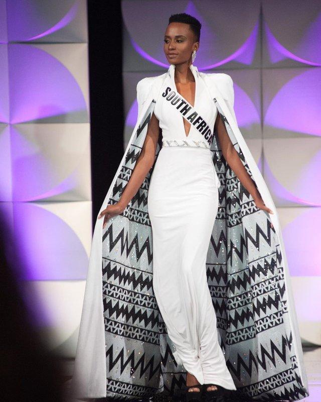 Зозібіні Тунзі – Міс Всесвіт 2019: добірка гарячих фото представниці ПАР - фото 373041