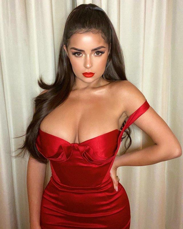 Сексуальна Демі Роуз показала фанатам розкішні форми (18+) - фото 373121
