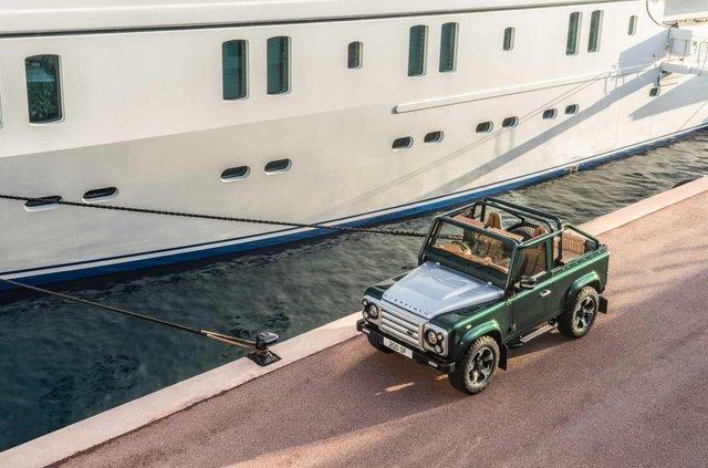 Land Rover Defender перетворили на розкішну 'яхту' - фото 373285