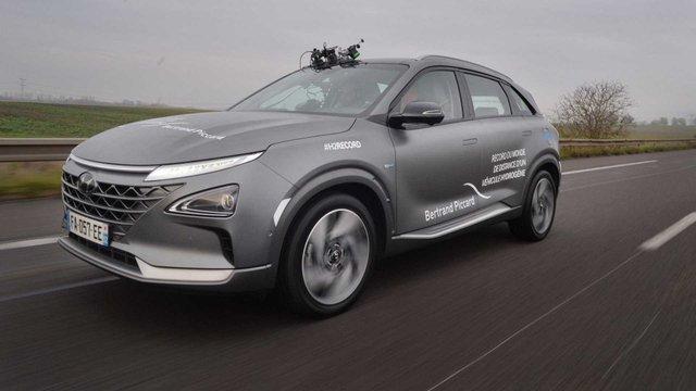 Водневий кросовер Hyundai встановив неймовірний рекорд - фото 373427