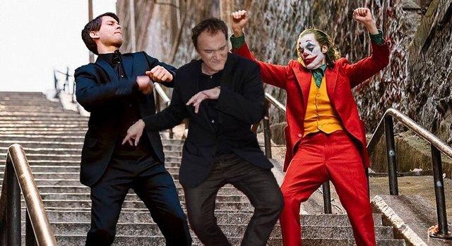 В інтернеті згадали, як Квентін Тарантіно повторював танець з Кримінального чтива: меми - фото 373552