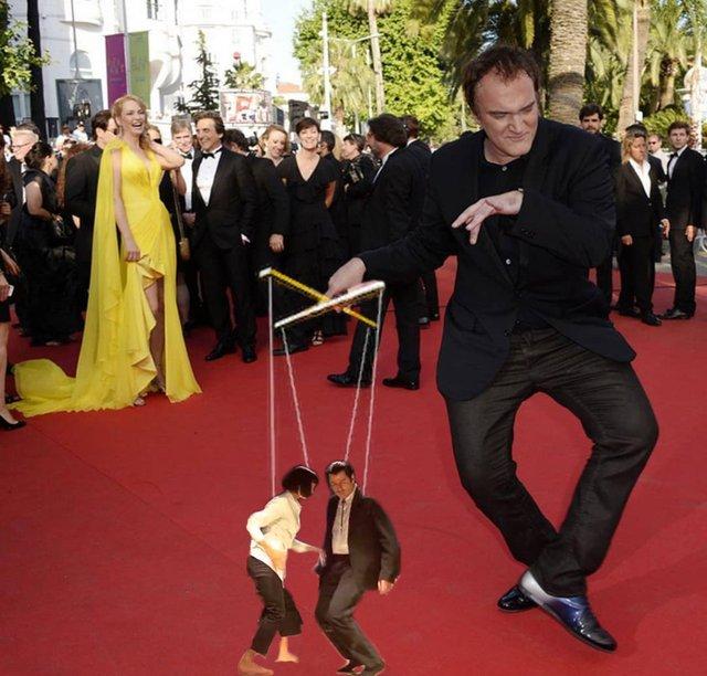 В інтернеті згадали, як Квентін Тарантіно повторював танець з Кримінального чтива: меми - фото 373554