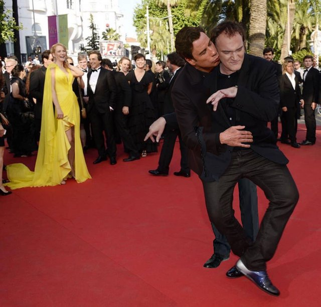 В інтернеті згадали, як Квентін Тарантіно повторював танець з Кримінального чтива: меми - фото 373555