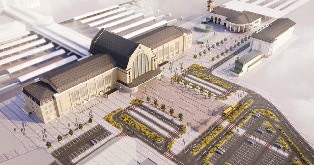 У мережі показали, як виглядатиме київський вокзал після реконструкції: візуалізація - фото 373580