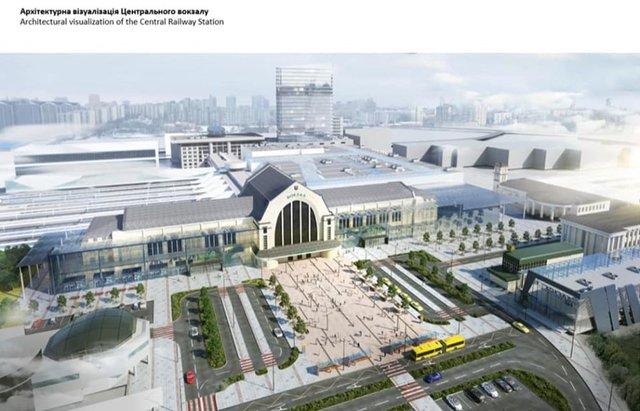 У мережі показали, як виглядатиме київський вокзал після реконструкції: візуалізація - фото 373581