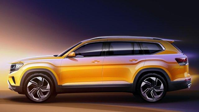 Як виглядатиме оновлений Volkswagen Teramont - фото 373674