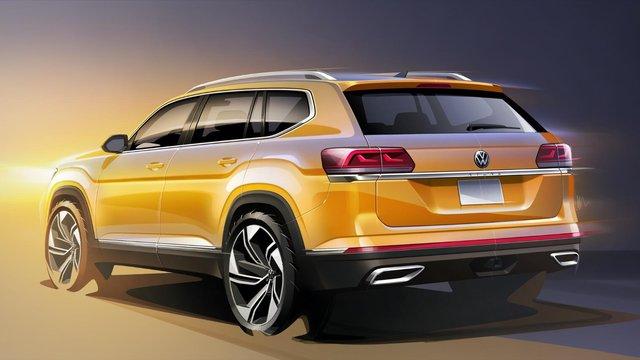 Як виглядатиме оновлений Volkswagen Teramont - фото 373675
