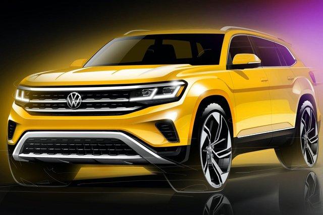 Як виглядатиме оновлений Volkswagen Teramont - фото 373676