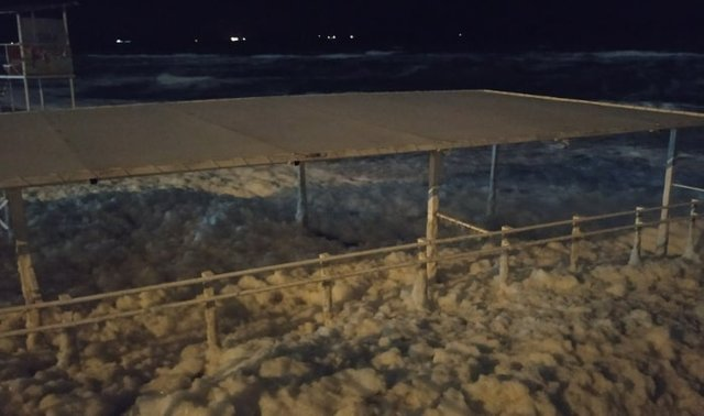 В Одесі після шторму бачили цікаве природне явище - фото 374220