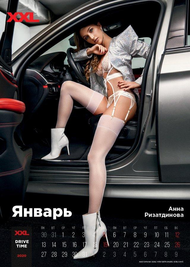 Українські зірки знялися в мереживній білизні для еротичного календаря журналу XXL (18+) - фото 374372