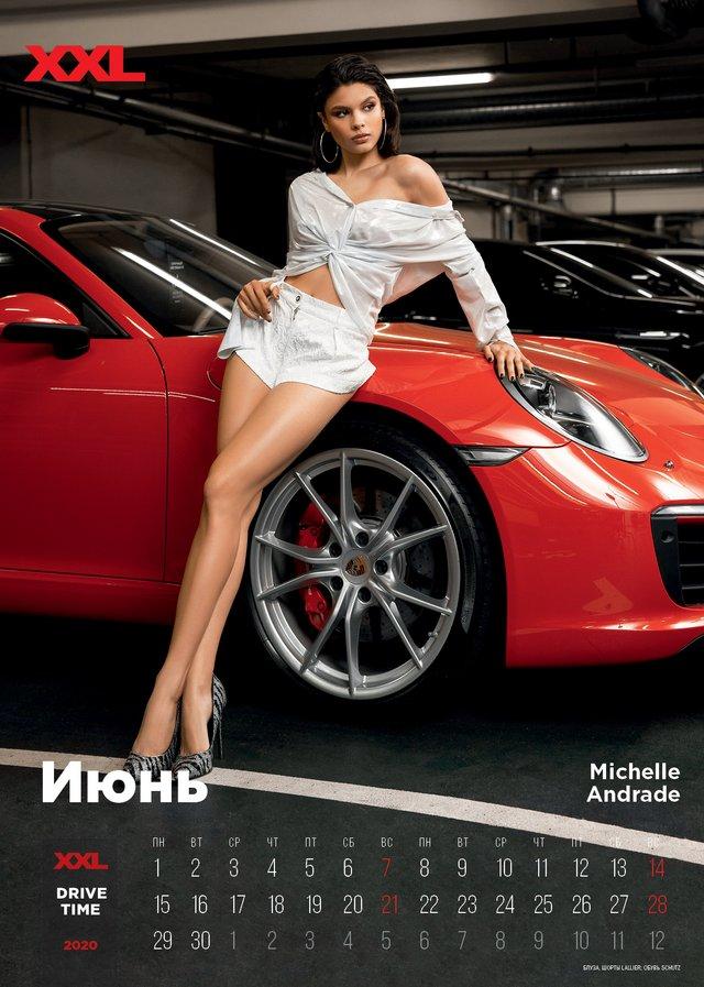 Українські зірки знялися в мереживній білизні для еротичного календаря журналу XXL (18+) - фото 374380