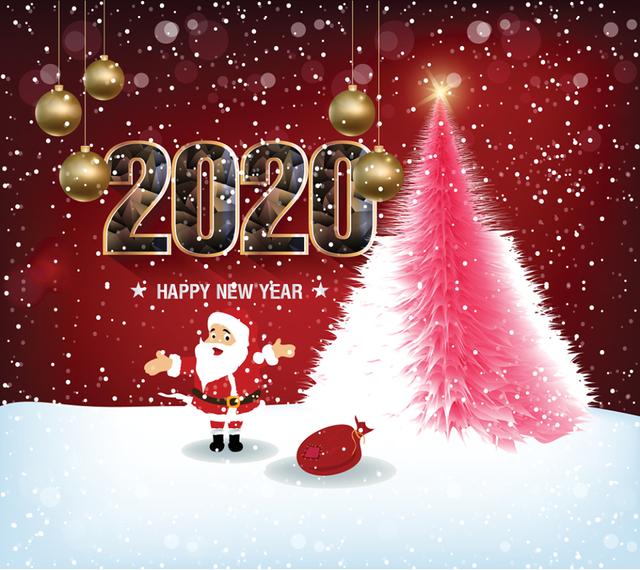 Картинки з Новим роком 2020: найкращі новорічні листівки і відкритки - фото 377496