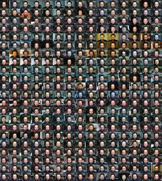 Чоловік 20 років щодня робив селфі: дивіться, як він змінився за цей час - фото 379696