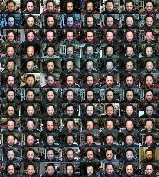 Чоловік 20 років щодня робив селфі: дивіться, як він змінився за цей час - фото 379698
