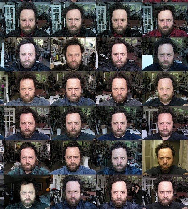 Чоловік 20 років щодня робив селфі: дивіться, як він змінився за цей час - фото 379700