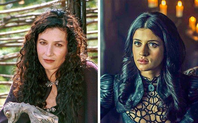 Як виглядають герої Відьмака в серіалах 2001 і 2019 років: фотопорівняння - фото 379995