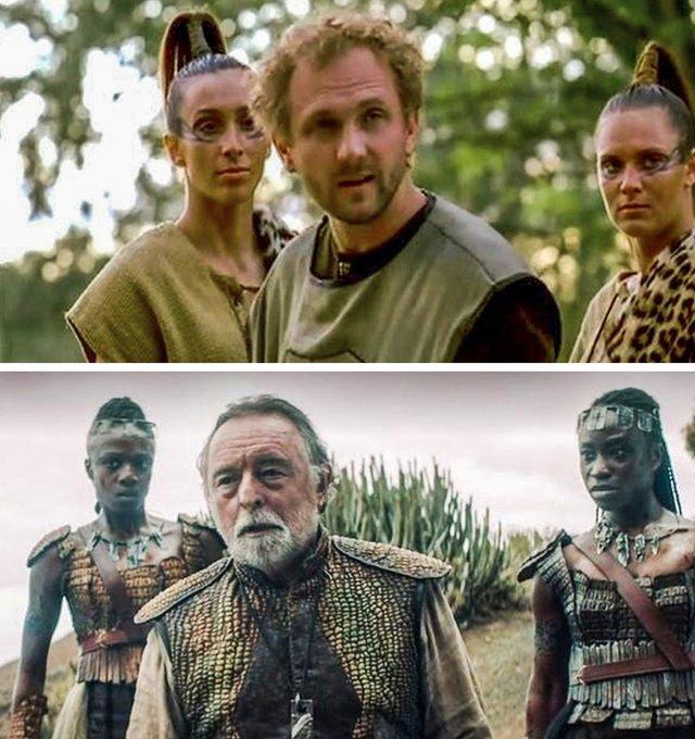 Як виглядають герої Відьмака в серіалах 2001 і 2019 років: фотопорівняння - фото 380004