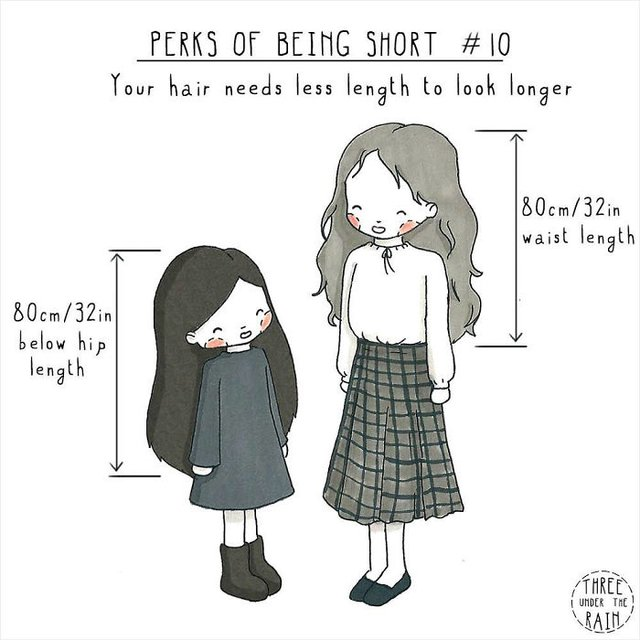 Чому вигідно бути невисоким: кумедні комікси - фото 380059