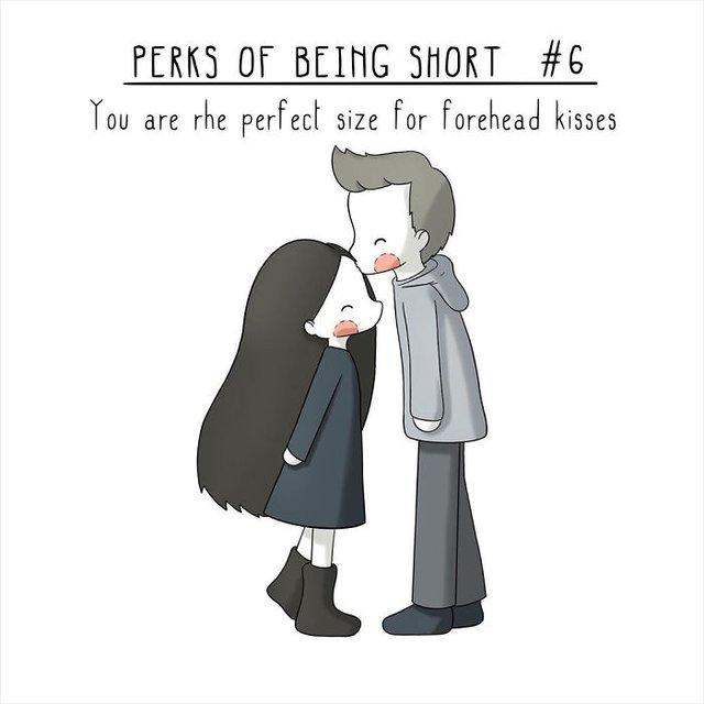 Чому вигідно бути невисоким: кумедні комікси - фото 380060