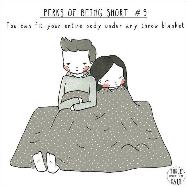 Чому вигідно бути невисоким: кумедні комікси - фото 380062