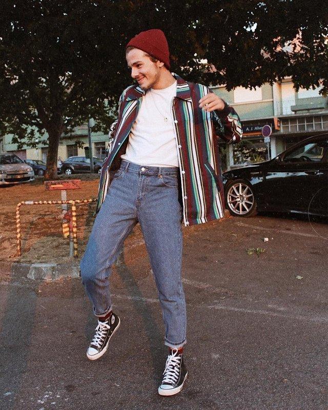Тренди чоловічої моди 90-х, які будуть носити у 2020: найкращі чоловічі образи - фото 380406