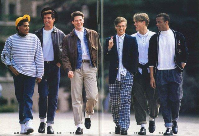 Тренди чоловічої моди 90-х, які будуть носити у 2020: найкращі чоловічі образи - фото 380421