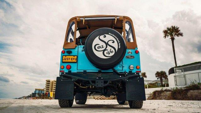 Автолюбителі переробили Land Rover в пляжний баггі: відео - фото 380745