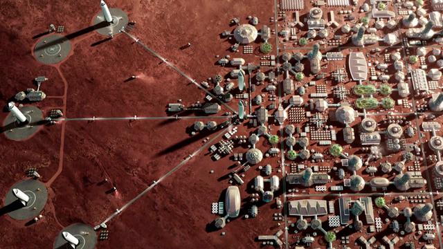 Колонізація Марса  - фото 381060