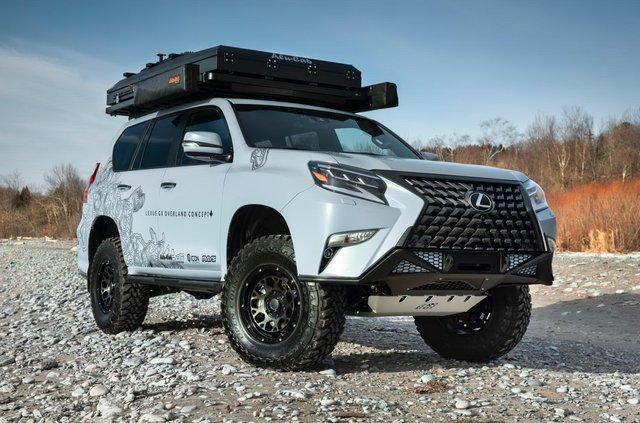 Lexus випустив оновлену версію позашляховика GX для фанатів пригод - фото 381309