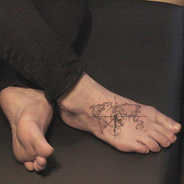 Модні чоловічі татуювання 2020: ТОП 50 ідей та прикладів тату у фото - фото 381572