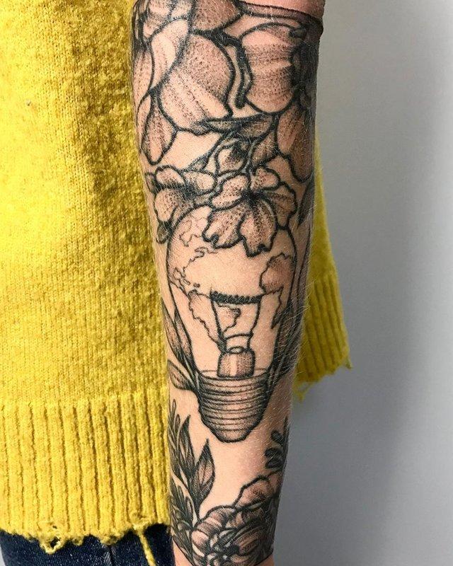 Модні чоловічі татуювання 2020: ТОП 50 ідей та прикладів тату у фото - фото 381635