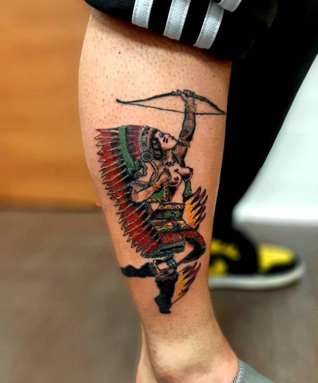 Модні чоловічі татуювання 2020: ТОП 50 ідей та прикладів тату у фото - фото 381646