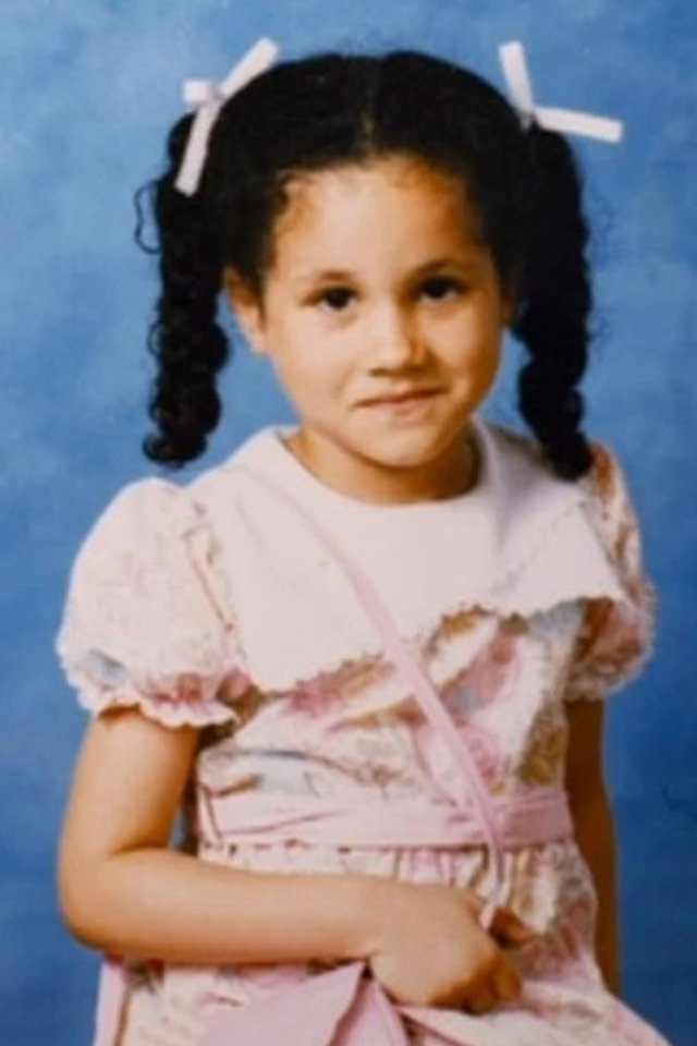 Батько Меган Маркл показав її дитячі фото: унікальні кадри - фото 381745