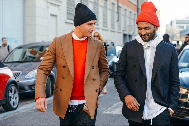 Модні чоловічі шапки - фото 382131