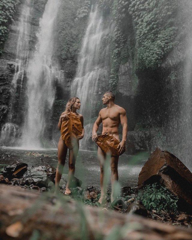 Нікіта Добринін і Даша Квіткова показали сучасних Адама і Єву - фото 382208