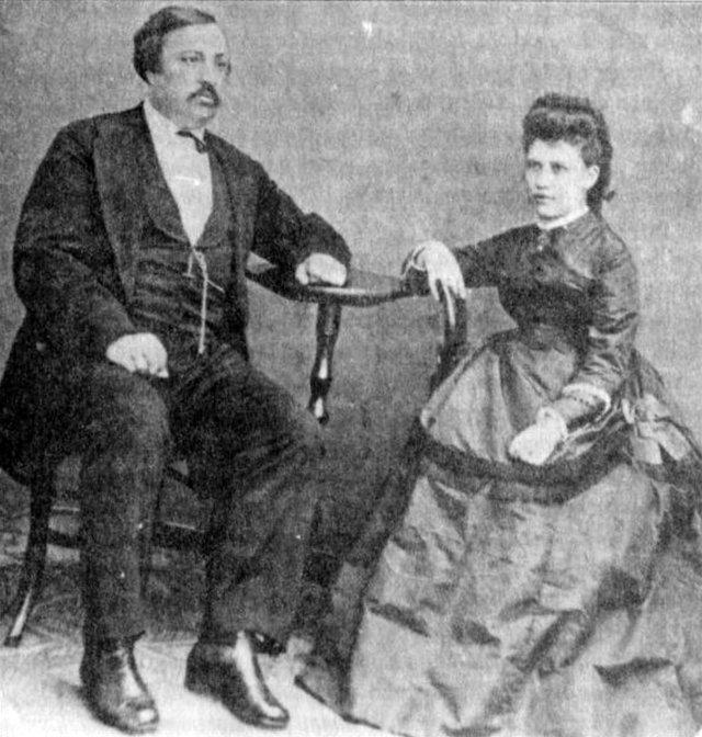 Чубинський зі своєю дружиною - фото 382219
