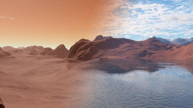 Вчені вперше розповіли про властивості води на Марсі - фото 382703