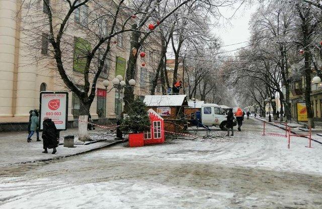 У мережі показали наслідки сніжної негоди в Україні - фото 384425
