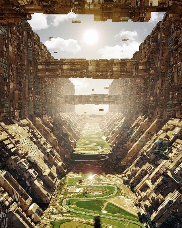 Якби майбутнє настало: вражаючі картини італійця - фото 384987