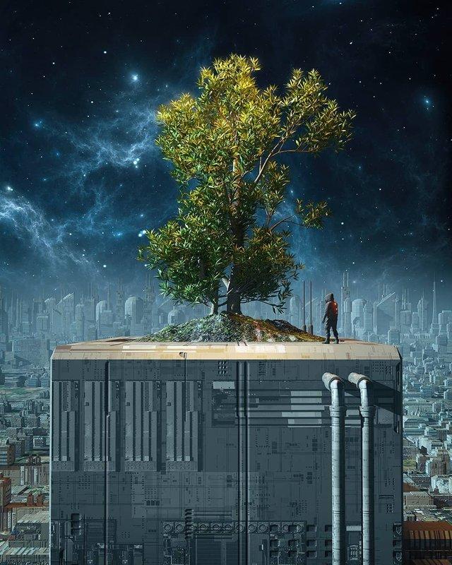 Якби майбутнє настало: вражаючі картини італійця - фото 384990
