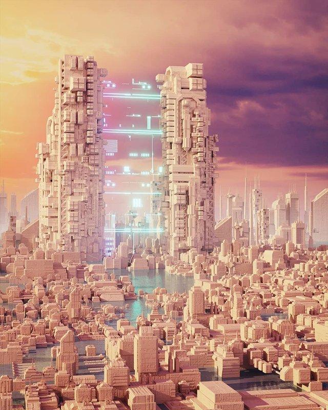 Якби майбутнє настало: вражаючі картини італійця - фото 384993