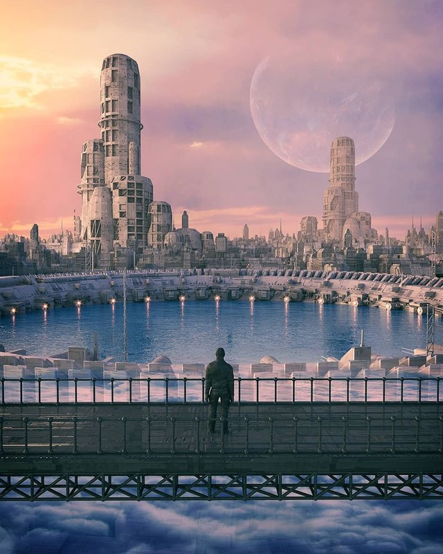 Якби майбутнє настало: вражаючі картини італійця - фото 385001