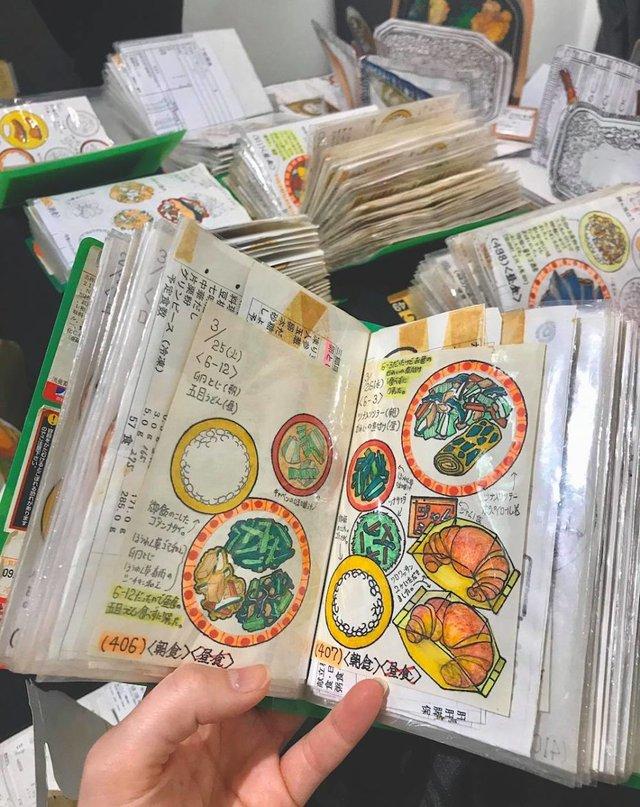 Японець намалював всі страви, які з'їв за останні 30 років: фото - фото 385037
