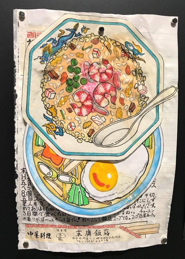 Японець намалював всі страви, які з'їв за останні 30 років: фото - фото 385038
