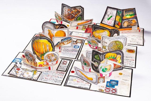 Японець намалював всі страви, які з'їв за останні 30 років: фото - фото 385042