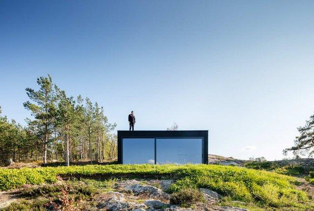 У Швеції біля моря побудували таємну сучасну сауну: фото - фото 385580